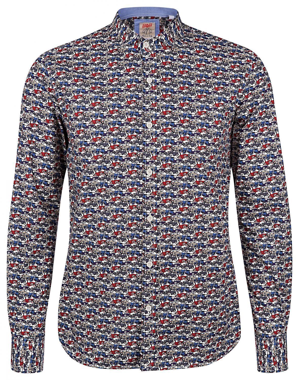 BOB Herren Hemd Lop Variante Unica