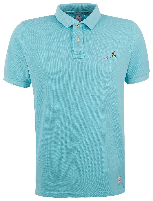 """BOB Herren Poloshirt """"Back"""" Tiffany"""