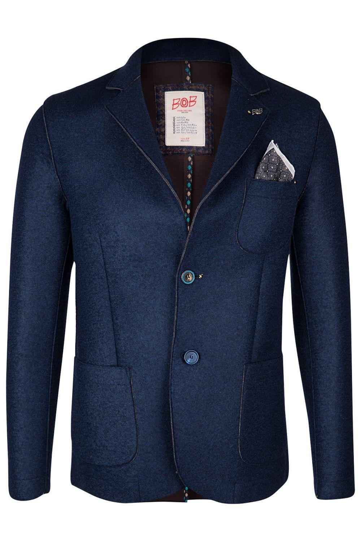 Henry Herren Herren BOB Henry Jeans Jeans BOB Mantel Mantel 35RqjAL4