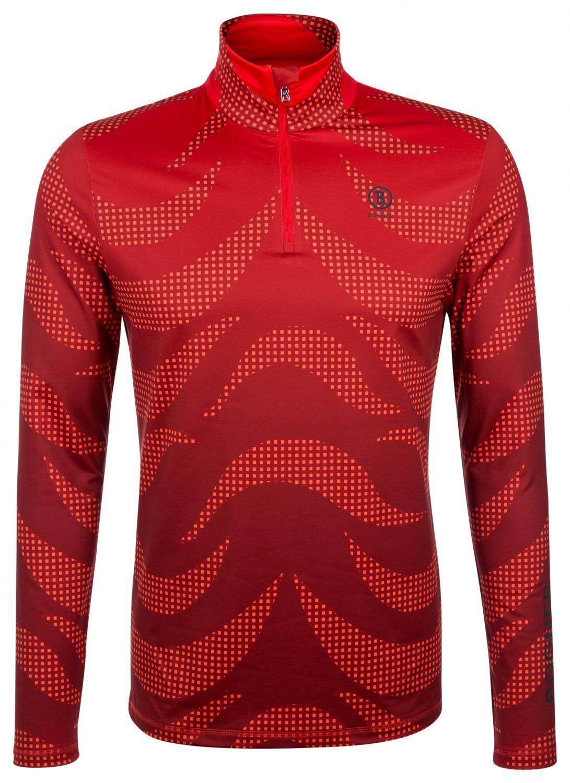 Bogner Herren First Layer Skishirt Verti Rot