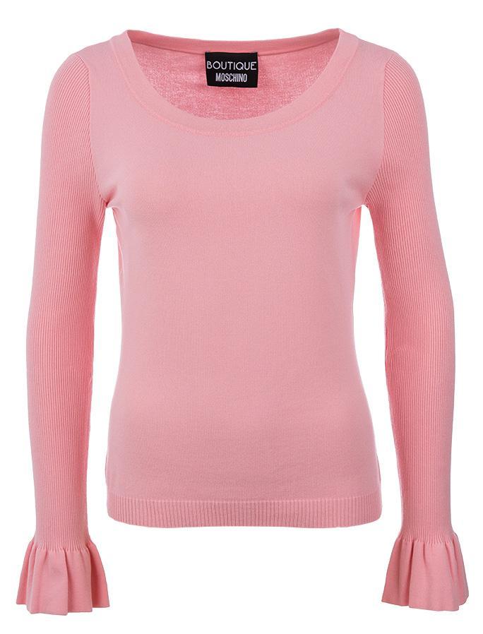sale retailer 3e654 e9a98 Boutique Moschino Damen Strickpullover Rosa