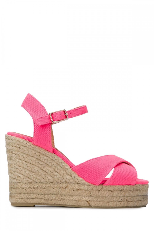 Castaner Damen Wedges Blaudell Pink
