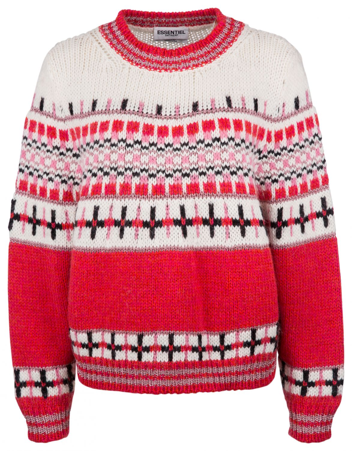 "Essentiel Antwerp Damen Strickpullover ""Rochers"" Rot"