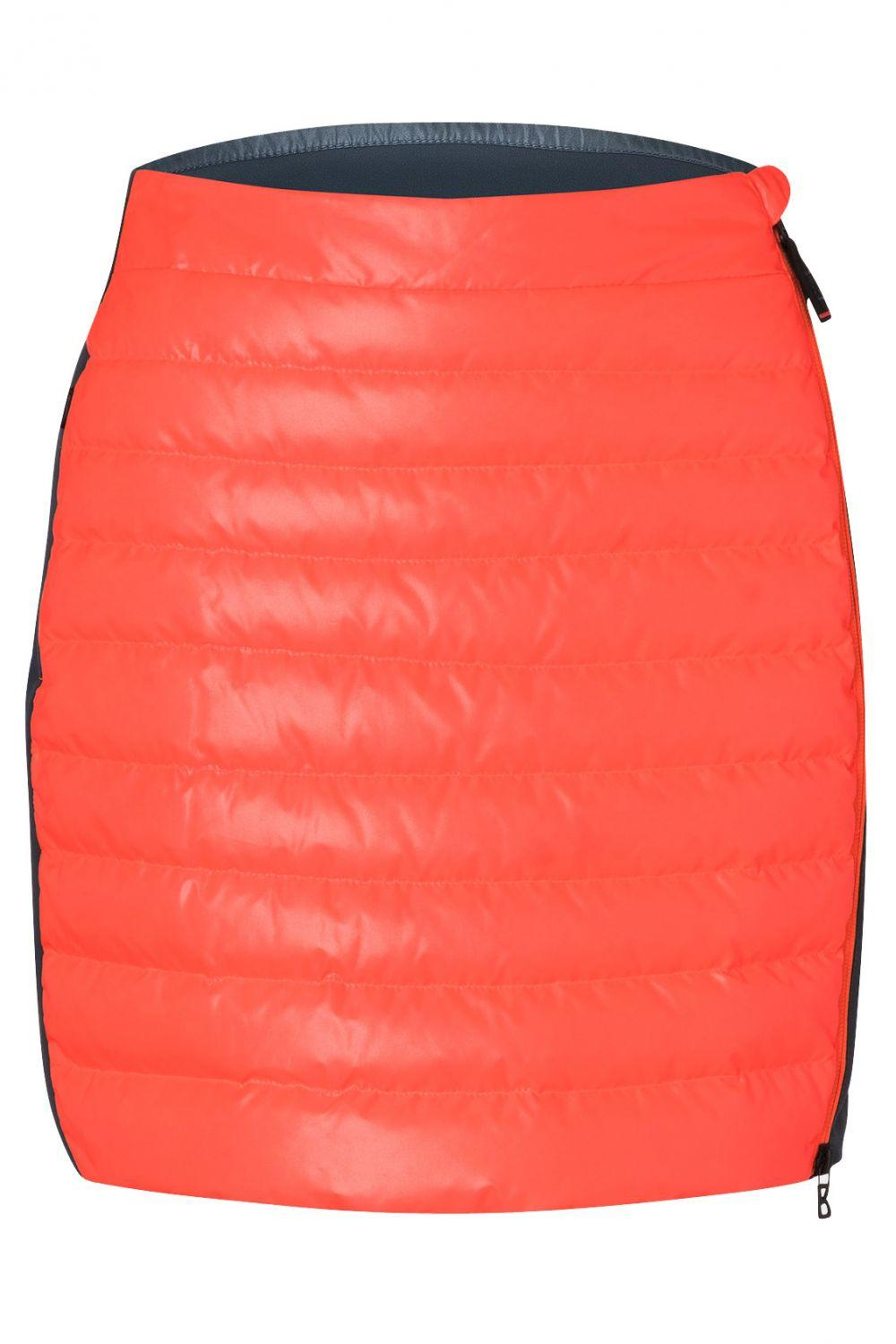 Fire & Ice Damen Daunenrock Cloe-D Orange