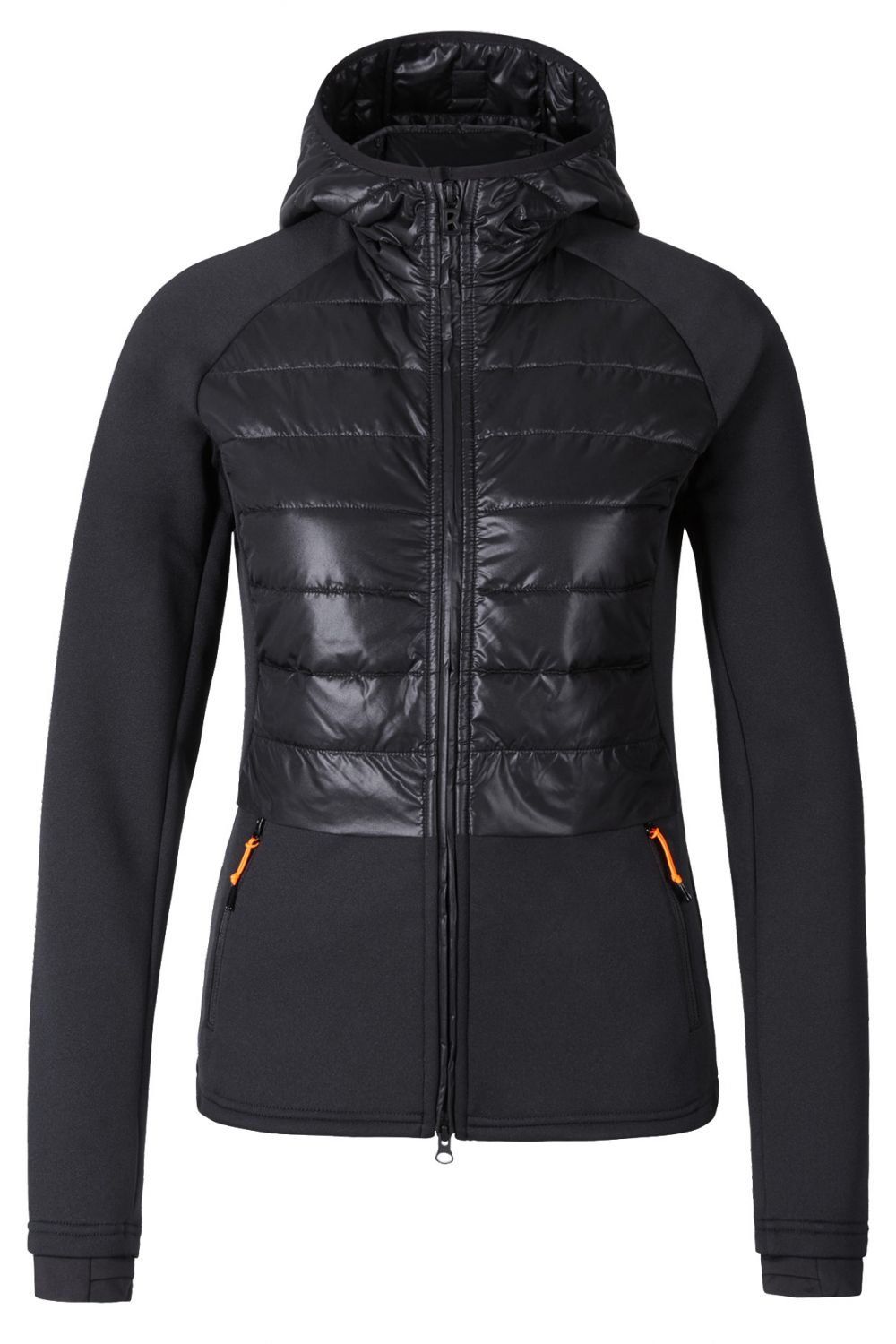 Schwarz Damen Rikka Hybrid Jacke Ice Fireamp; Kc1JFTl