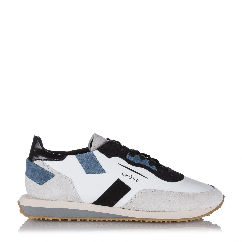"Ghoud Herren Ledersneaker ""Rush"" Weiss"