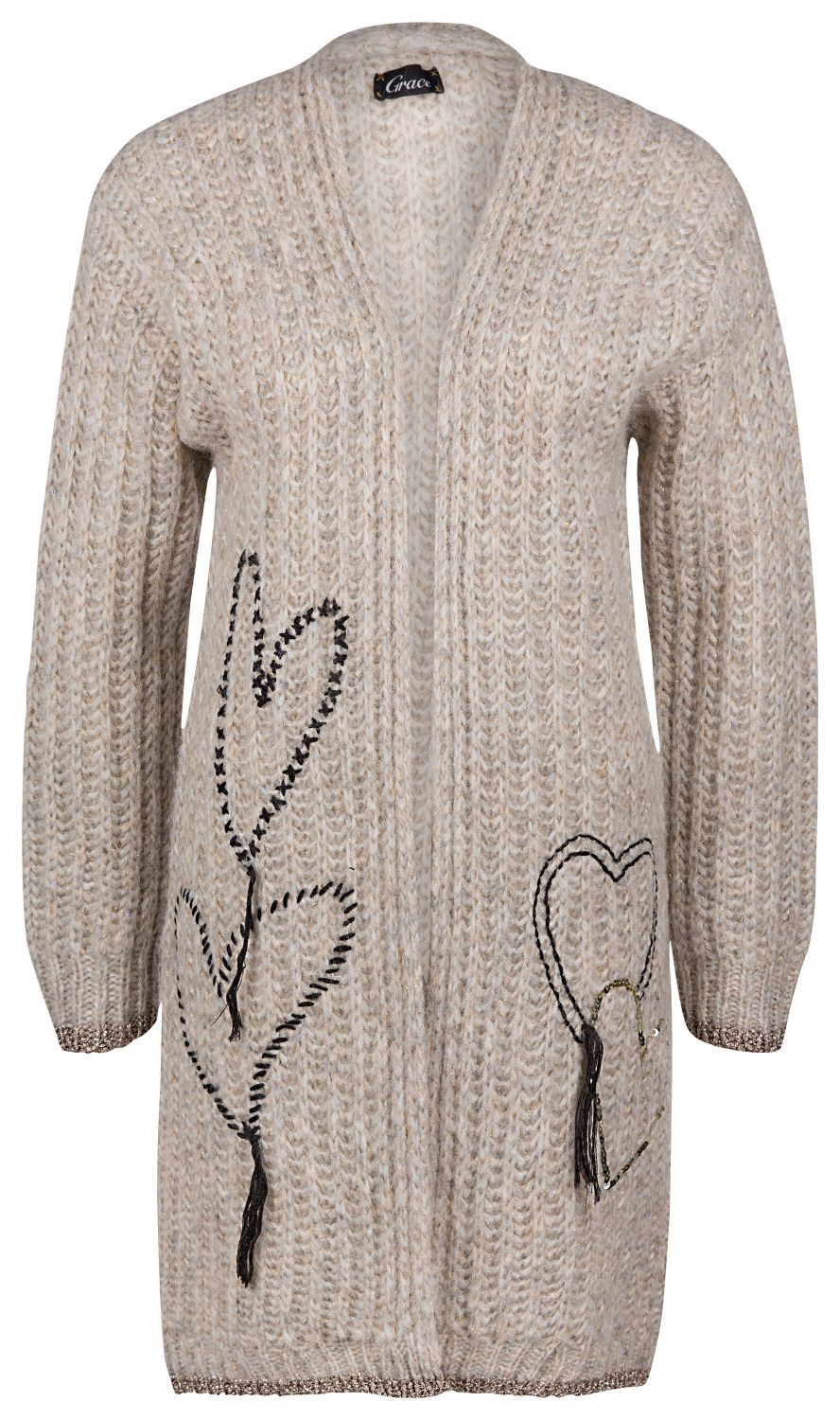 Grace Damen Cardigan Cloud