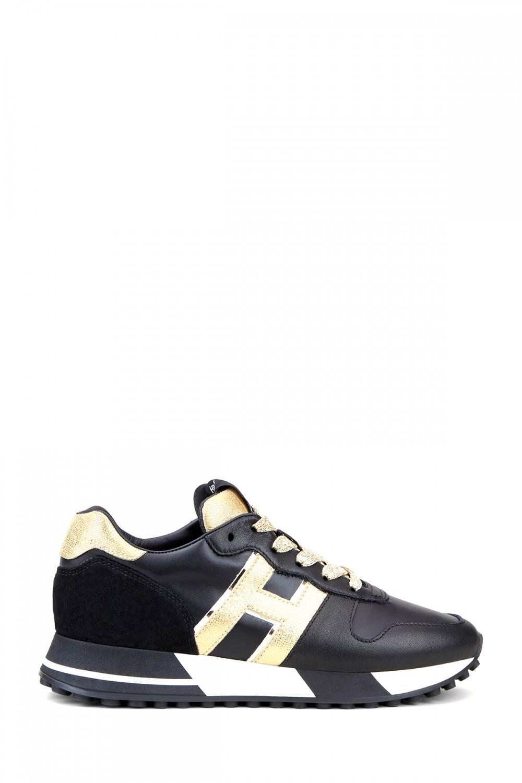 Hogan Damen Sneaker H383 Schwarz