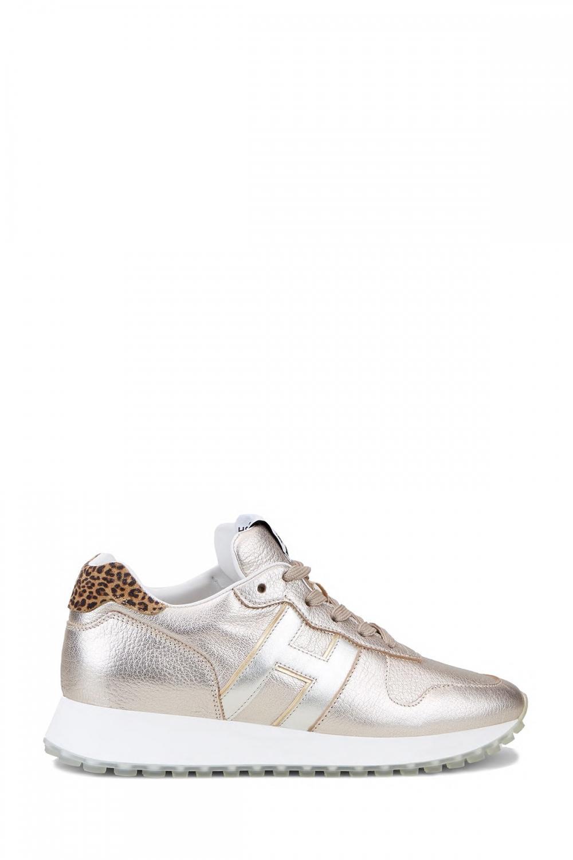 Hogan Damen Sneaker H429 Silber/Gold