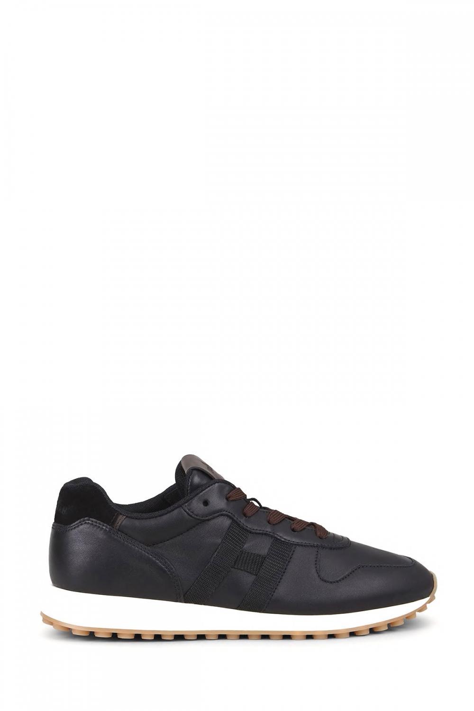 Hogan Herren Sneaker H429 Schwarz