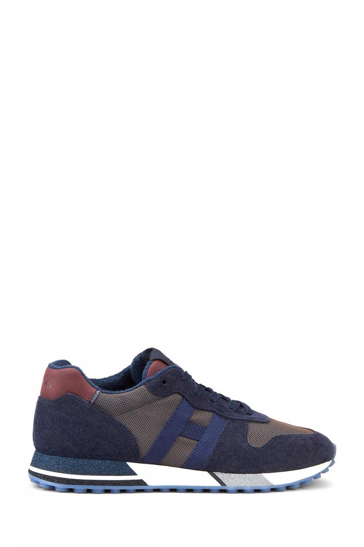 Hogan Herren Sneaker H482 Marineblau