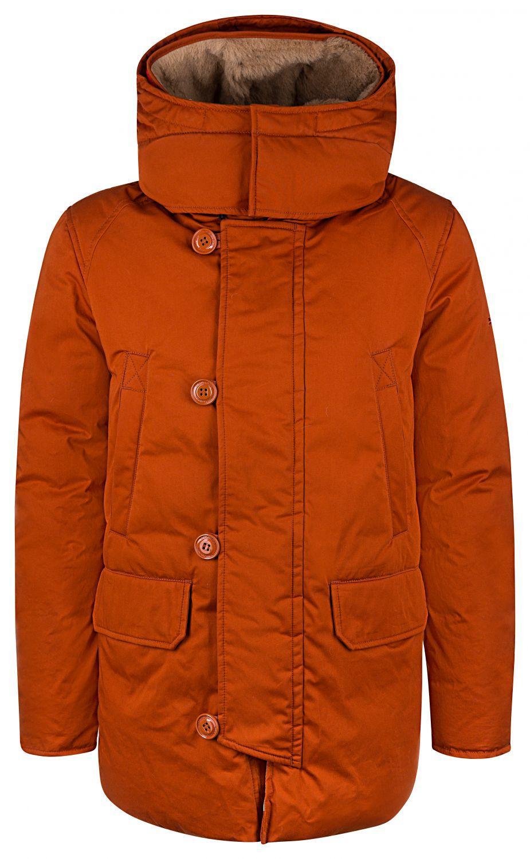 Holubar Herren Daunenparka Boulder Orange