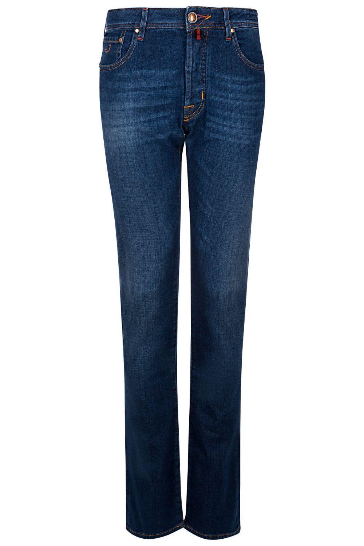 Jacob Cohen handmade Herren Jeans Comfort Denim Blau