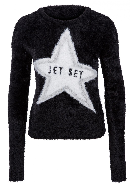 "Jet Set Damen Pullover ""Amalia"" Schwarz"
