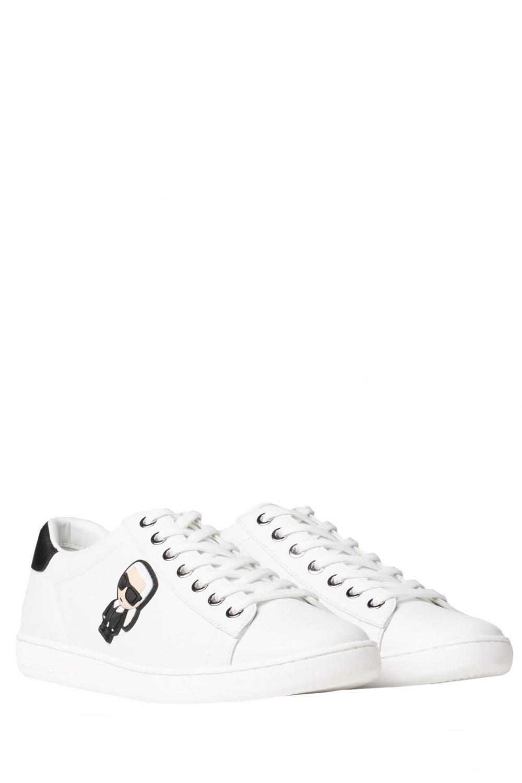 Karl Lagerfeld Damen Sneaker Kupsole II Weiss