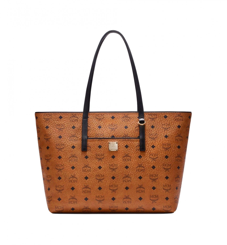 finest selection 12627 05fd1 MCM Damen Anya Shopper MED Cognac