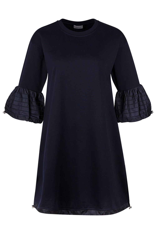 Moncler Damen Jerseykleid Navy