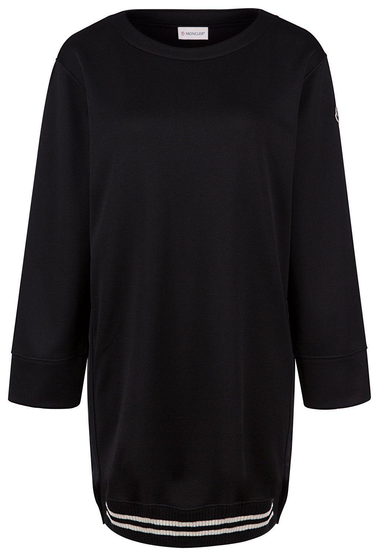 Moncler Damen Jerseykleid Schwarz