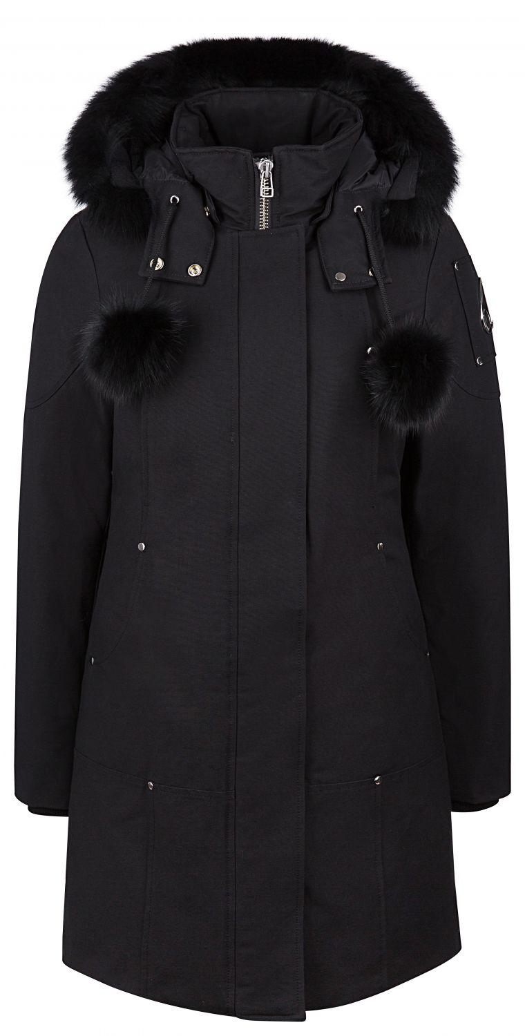 Moose Knuckles Damen Daunenparka Stirling Schwarz