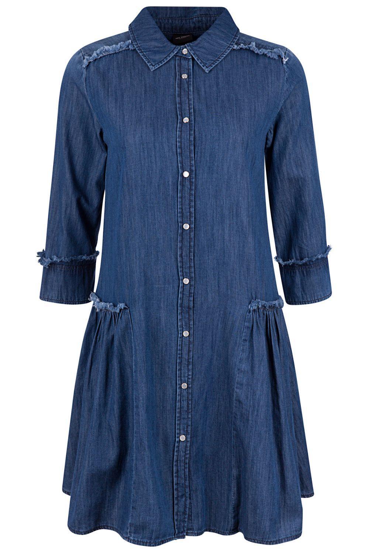 My Twin Damen Jeanskleid Denim Blau