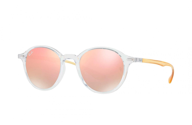 0514be7c0f Ray Ban Sonnenbrille Transparent Kupfer Gradient Flash