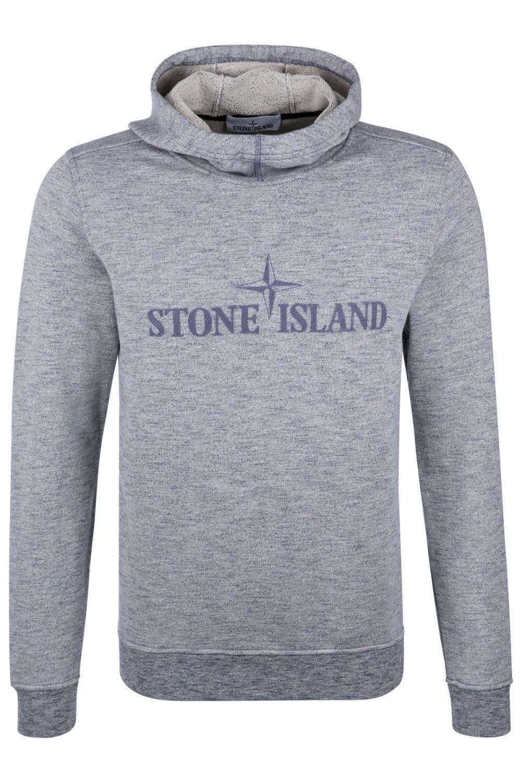 Stone Island Herren Hoodie Marineblau