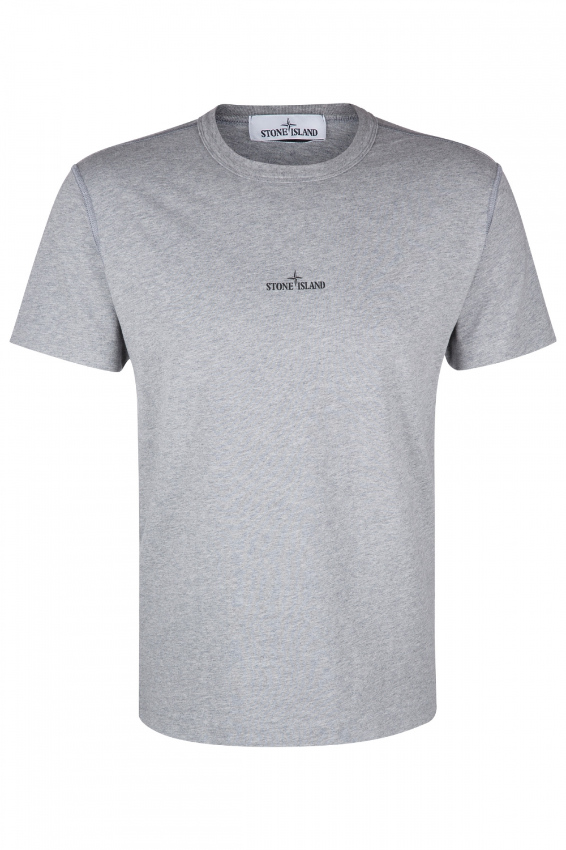 Stone Island Herren T-Shirt Grau meliert