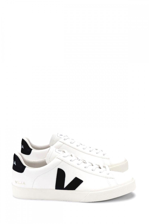 Veja Damen Sneaker Campo Chromefree Extra Weiss