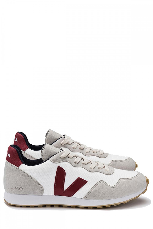 Veja Herren Sneaker B-Mesh White Marsala