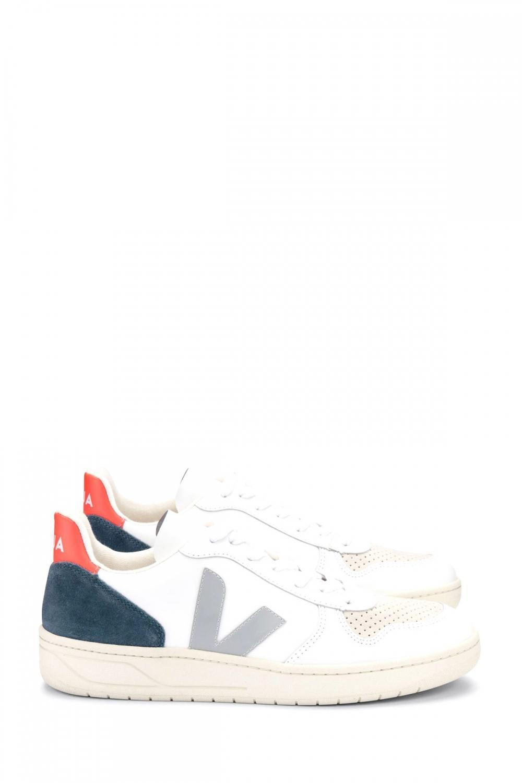 Veja Herren Sneaker Fluo Weiss