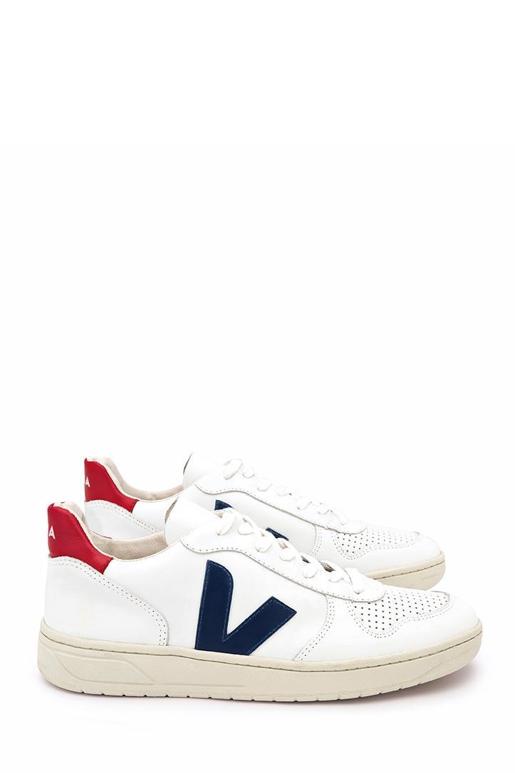 Veja Unisex Sneaker Leather Extra White