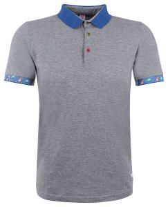 """Herren Poloshirt """"Reef"""" Grigio Melange"""