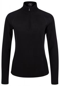 Damen First Layer Fleecepullover Madita Schwarz