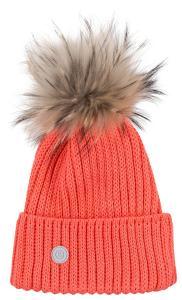 Damen Strickmütze Leonie Orange