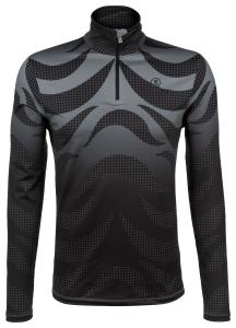 Herren First Layer Skishirt Verti Schwarz