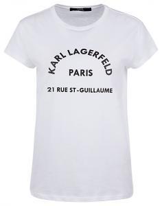 """Damen T-Shirt """"Address Tee"""" Weiss"""