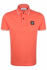 Herren Poloshirt Orange
