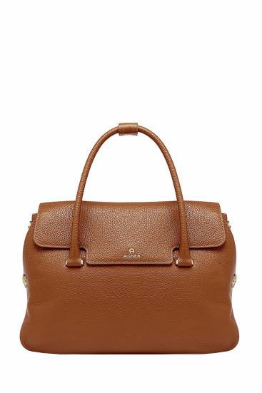 Damen Handtasche Milano L Braun