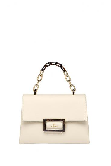 Damen Handtasche Vicenza M Antique White