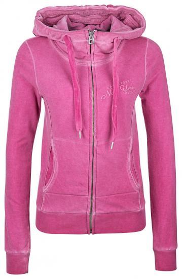 Damen Sweatjacke Pink
