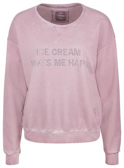 Damen Sweatpullover Ice Cream Rosa
