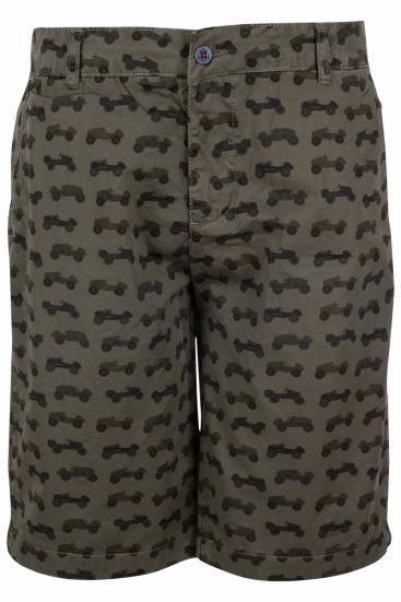 Herren Bermuda Shorts Chino Militare
