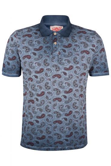 """Herren Poloshirt """"Best"""" Blau"""