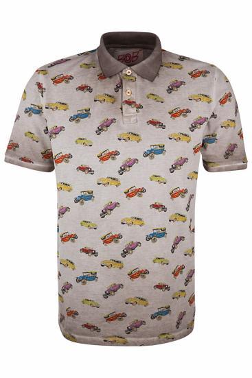 "Herren Poloshirt ""Best"" Tabacco"
