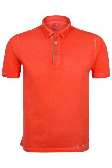 "Herren Poloshirt ""Ricky"" Corallo Tinto Freddo"