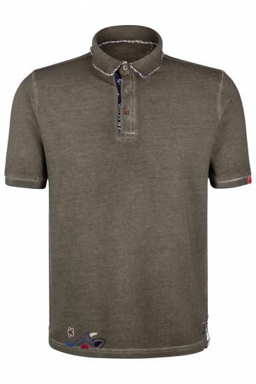 """Herren Poloshirt """"Ricky"""" Militare"""