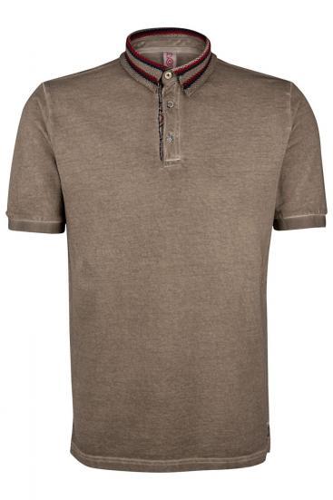 """Herren Poloshirt """"Ricky"""" Tabacco"""