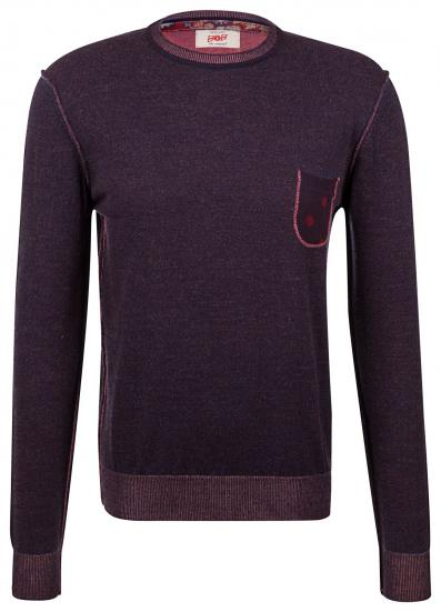 "Herren Strickpullover ""Aspes/n"" Bordeaux"