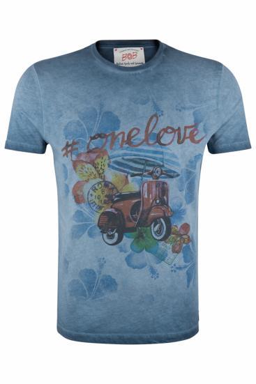 Herren T-Shirt Hell Copy Tinto Freddo