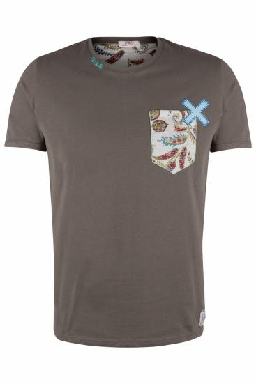 Herren T-Shirt Pock Militare